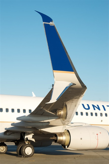 United Airlines Winglets