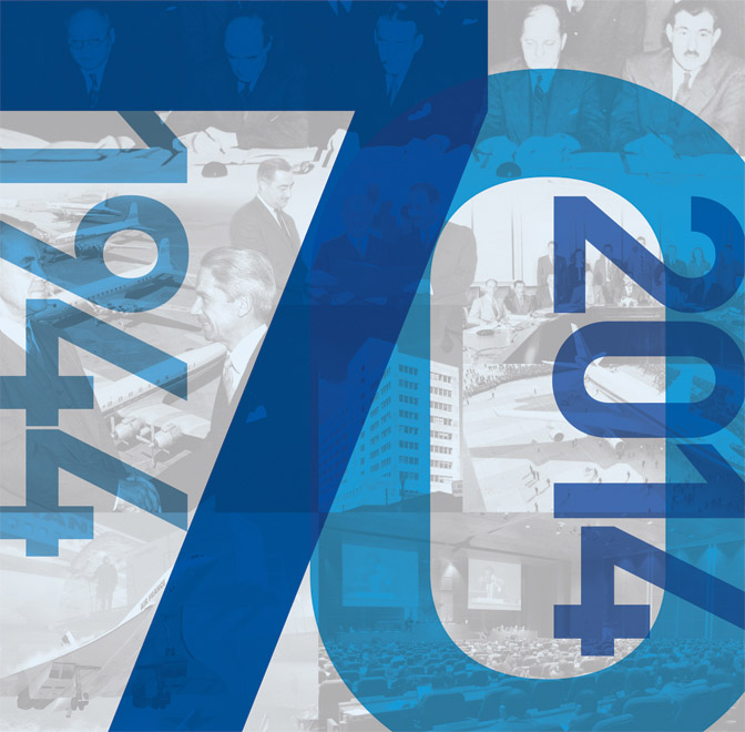 ICAO 70TH Logo2 Banners